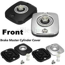 Front Lever Brake Master Cylinder Cover Cap For Harley-Davidson Touring 96-07