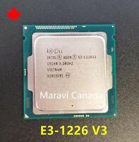 Intel Xeon E3-1226 V3 SR1R0 3.3GHz Quad 4-Core LGA 1150 CPU Processor