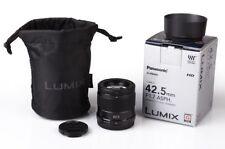 Panasonic Lumix G 1,7 / 42,5mm 42,5 mm O.I.S. Ausstellung Panasonic-Fachhändler