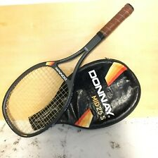 Vintage Donnay From Belgium Mid 25S Wood Graphite Composite Tennis Racket