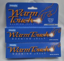 2x Warm Touch Warming Jelly Lubricant best Sex Enhance Intimacy 2oz Natureplex