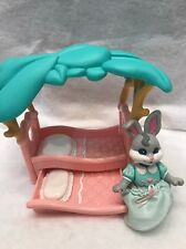 Fisher Price Hideaway Hollow Treehouse Pink Bed With Bunny Rabbit 1996