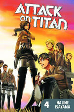 Attack On Titan Volume 4 Softcover Graphic Novel