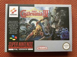 SUPER CASTLEVANIA IV - VERSION EUR PAL - SNES - SUPER NINTENDO