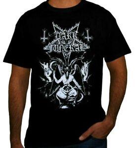 DARK FUNERAL PUNK ROCK BAND Black T Shirt