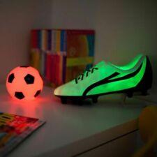 Iluminación de plástico para niños, fútbol