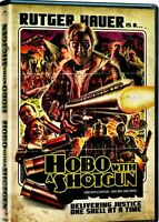 NEW DVD-  HOBO with a SHOTGUN - Rutger Hauer, Molly Dunsworth, Gregory Smith,