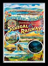 Donegal Railway  - Framed 30 x 40 Official Print