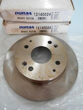 Rear Disc Brake Rotor for Acura CL 97 & Honda Accord 91-97 - Dura 121.40024