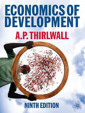 Economics of Development: Theory and Evidence, Good Condition Book, Thirlwall, A