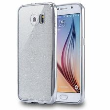 f7e6039fb51 A prueba de choques parachoques de Lujo de Metal Efecto Gel Estuche  Cubierta para Teléfonos Samsung Galaxy