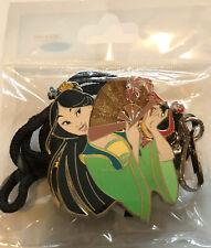 Disney Employee Center DEC Princesses Mulan and Mushu Pin Friend Series Bolo