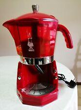 MOKONA BIALETTI usata + set accessori + braccetto AGOSTANI caffè macchina rossa