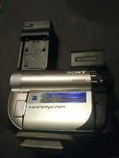 Sony HandyCam Dcr-Dvd650 Hybrid Camcorder 60x Optical Zoom With Charger