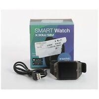 X-Watch X30W Smartwatch Fitness-Uhr Sportuhr Metallgehäuse... + NEU (234808)