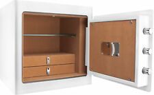 Barska Luxury Fireproof Steel Jewelry Safe w/ Drawers & Interior Light, AX13104