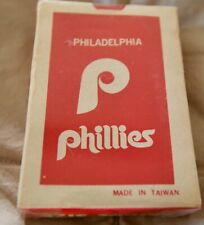 Philadelphia Phillies playing cards  sealed  older type