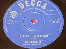 "Alan Price Set:  The House That Jack Built   VERY RARE 1967  Hong Kong 7"""