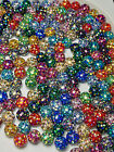 Ferido Crystal Balls Replacement 5mm 14g,16g AB Colors Epoxy Coated 10Pcs/1Lot