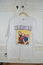 RARE OFFICIAL Hanson 1997 Shirt Size X-LARGE!