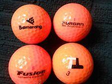 """20  MIXED MAKES  """"ORANGE"""" - Golf Balls - """"A"""" Grade."""
