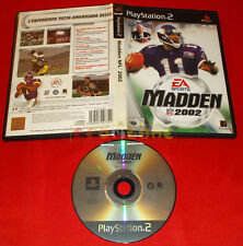 MADDEN NFL 2002 Ps2 Versione Italiana ○ SENZA MANUALE