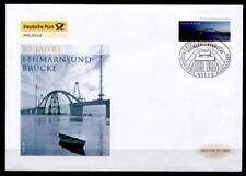 50 Jahre Fehmarnsundbrücke. FDC(mh). Bonn. BRD 2013