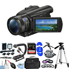 Sony FDR-AX700 4K Camcorder #FDR-AX700/B PRO BUNDLE BRAND NEW