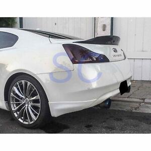 Infiniti G37 Coupe Carbon Fiber Rear Wing Spoiler 2008 - 2013