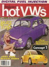 DUNE BUGGIES & HOT VW'S 1994 APR - NEW BEETLE, NARROWING REAR SUSPENSIONS