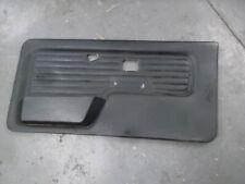 BMW E30 Cabrio Türverkleidung Türpappe schwarz Leder vorne rechts Beifahrerseite