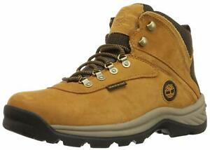 Timberland Men's White Ledge Mid Waterproof Ankle Boot, Black, Dk Brown, Wheat