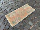 Vintage rug, Carpet, Turkish  natural dyed rug, %100 wool rug | 1,4 x 3,1 ft