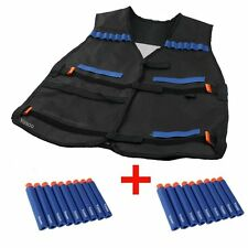 Combat Tactical Vest for Nerf N Strike Elite Guns Accessories with 20 Darts
