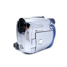 Canon Dc210 Mini Dvd Camcorder Camera 35X/1000X Zoom Tested