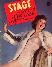 1939 Stage/After Dark May - Who and what is where each day of the week