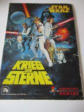 PANINI Album Star Wars Krieg der Sterne komplett 1977