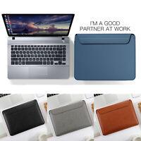 Magnet Leder Tasche für New MacBook Pro/Air 13 Zoll 2018 2019 Schutzhülle Case