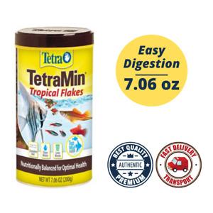 TetraMin Balanced Diet 7.06 oz Tropical Fish Food Flakes Tetra FAST SHIPPING