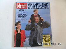 PARIS MATCH N°2218 28/11/1991 décès Yves Montand Michael  Jackson  H53