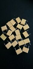 More details for 30x nos vintage box type polyester capacitors 0.068uf 68nf 68000pf 100v