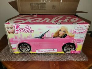 2010 Pink Glam Convertible Barbie Car Vehicle (Brand New!!)