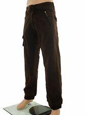 Pantalone uomo marrone dritto ENERGIE  taglia it 44 cotone w 30 xs small