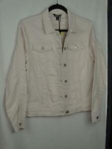 Buffalo David Bitton Women's Jacket Size Small Knit Denim Jacket Pink Super Soft