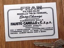 FRAM Classic FERRARI CARELLO FILTRO OLIO PB50 Adesivo