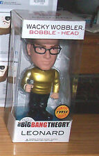 FUNKO WACKY WOBBLER THE BIG BANG THEORY LEONARD STAR TREK METALLIC  CHASE FIGURE