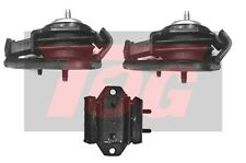 TOG RUBBER ENGINE MOUNT SET INC GEARBOX MOUNT SUITS SILVIA S14 S15 200SX SR20