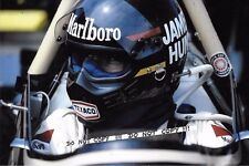 9x6 fotografia, James Hunt, F1 Wolf-Cosworth CASCO Ritratto 1979
