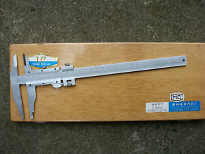 Nib Jaw Stainless Steel Vernier Caliper - 200mm with Fine Adjustment