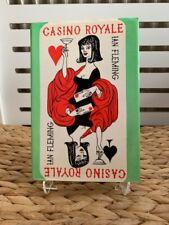 Superb - Casino Royale by Ian Fleming 1980 Original Dust Jacket FINE CONDITION